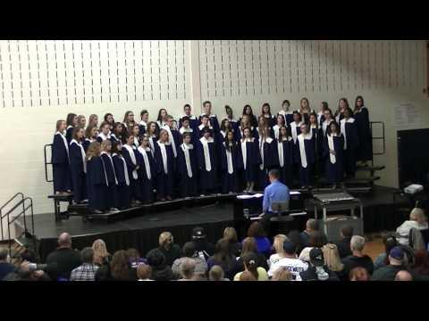 Drauden Point Middle School 8th Grade Choir Concert 2016-05-04 (3/4)