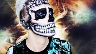 Glitter ZOMBIE BOY Halloween Makeup TUTORIAL | Marvyn Macnificent