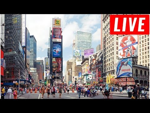 LIVE CAMERA - Times Square in Midtown Manhattan, New York City Live USA 24/7