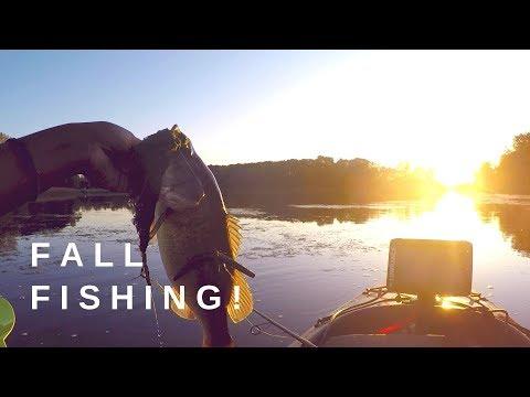 Fall Kayak Bass Fishing!