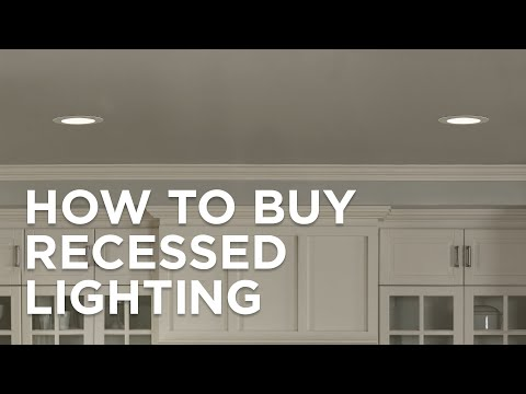 How To Buy Recessed Lighting - Buying Guide - Lamps Plus