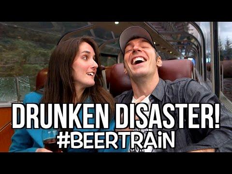 Beer Train GONE WRONG! - [Living in Alaska 38]