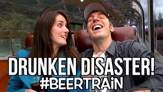Beer Train GONE WRONG! - [Living in Alaska 38]