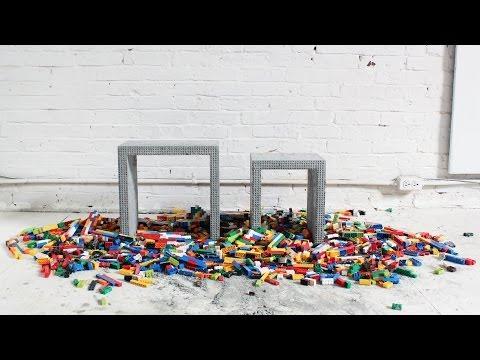 Διακοσμήστε το σπίτι σας με απλές κι εύκολες κατασκευές από lego και …… τσιμέντο!