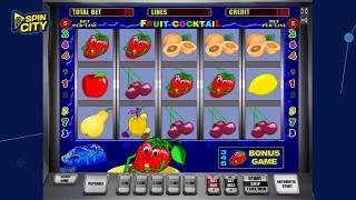 Spin City - Игровой автомат Fruit Cocktail (Клубничка, Фруктовый Коктейль)