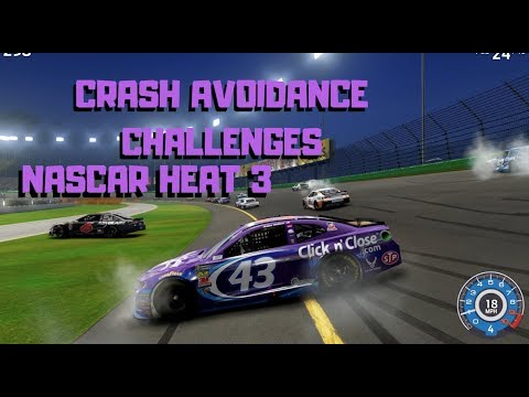 Crash Avoidance Challenges | NASCAR Heat 3 |