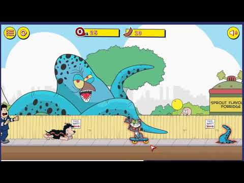 Gnasher's Deadly Dash (PC Browser Game)