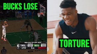 How Giannis TORTURED Himself For Missing Free Throws