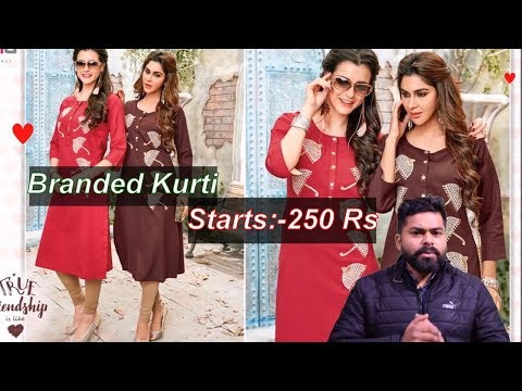 Cheapest Ladies Suit Kurti Wholesale Market ! Chandni Chowk Delhi ! Branded Suit & Kurti
