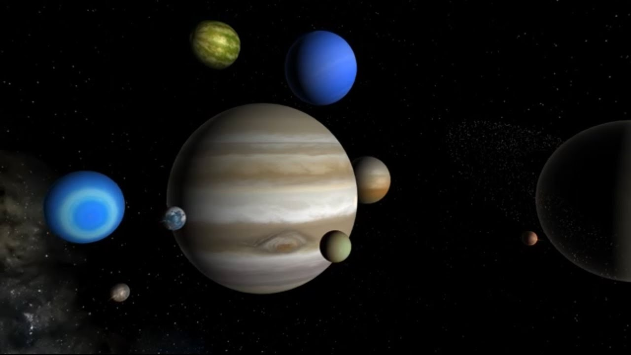 What if Entire Solar System Crashes Into Jupiter |TSknowledge