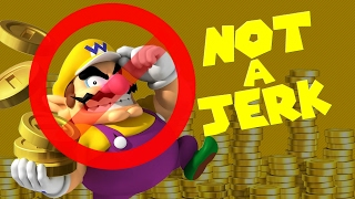Wario is NOT A JERK!