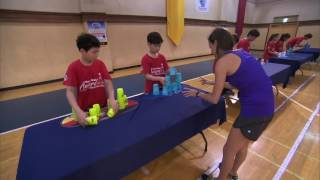 The Amazing Race   As Easy As Stacking Cups Sneak Peek