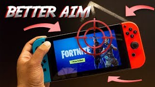 How to Aim Better in Fortnite for the Nintendo Switch!!!!!!