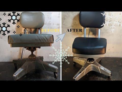 1967 American Army CHAIR Restoration - Vietnam War Repair  - Merry X-Mas