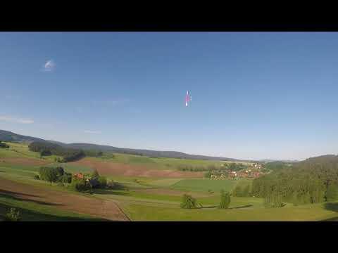 SRTL beim Hangflug mit leichtem DS