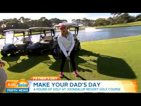 Father's Day - Joondalup Resort Golf | Today Perth News