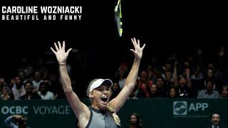 Tennis TOP5 - Funny and Beautiful Caroline Wozniacki