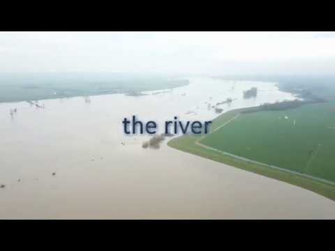 The River IJssel Floods by Drone Z