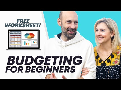 Budgeting For Beginners: How To Quickly Create A Budget (FREE budgeting worksheet)