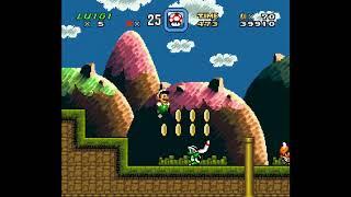 SMW Hack - Luigi's Misadventures: Tsux Namine's Factor (1)