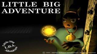 Little Big Adventure gameplay (PC Game, 1994)