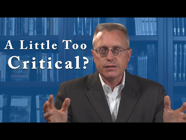 Constructive v.s. Critical Criticism in the Catholic Church