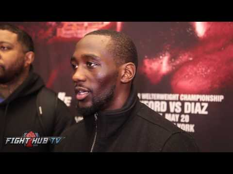 """Terence Crawford """"Alot of people think Spence is gonna blow Brook out the water NO"""""""