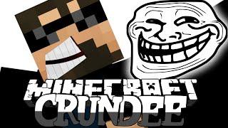 Minecraft: CRUNDEE CRAFT | HOLE TROLL!! [5]