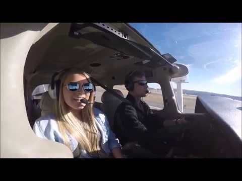 Valentines flight to Tulsa - GoPro in a Cessna