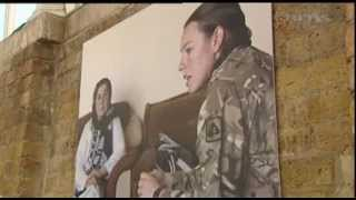 Women at war caught on camera 20.02.13