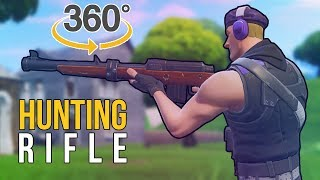 360 Hunting Rifle - Fortnite Fails and Epic Moments #28 (Daily Fortnite Funny Fails and WTF Moments)