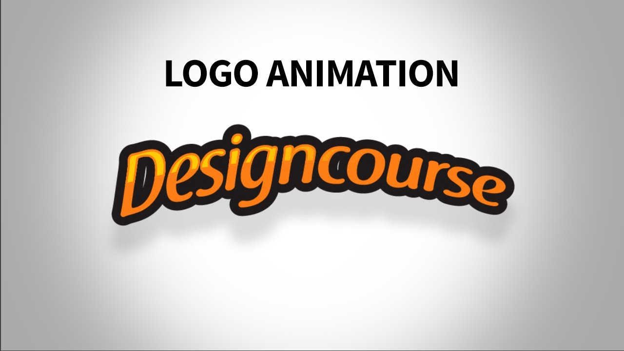 how to animate a logo