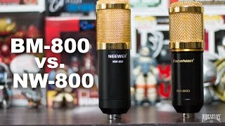BM-800 vs NW-800 Comparison (Versus Series)