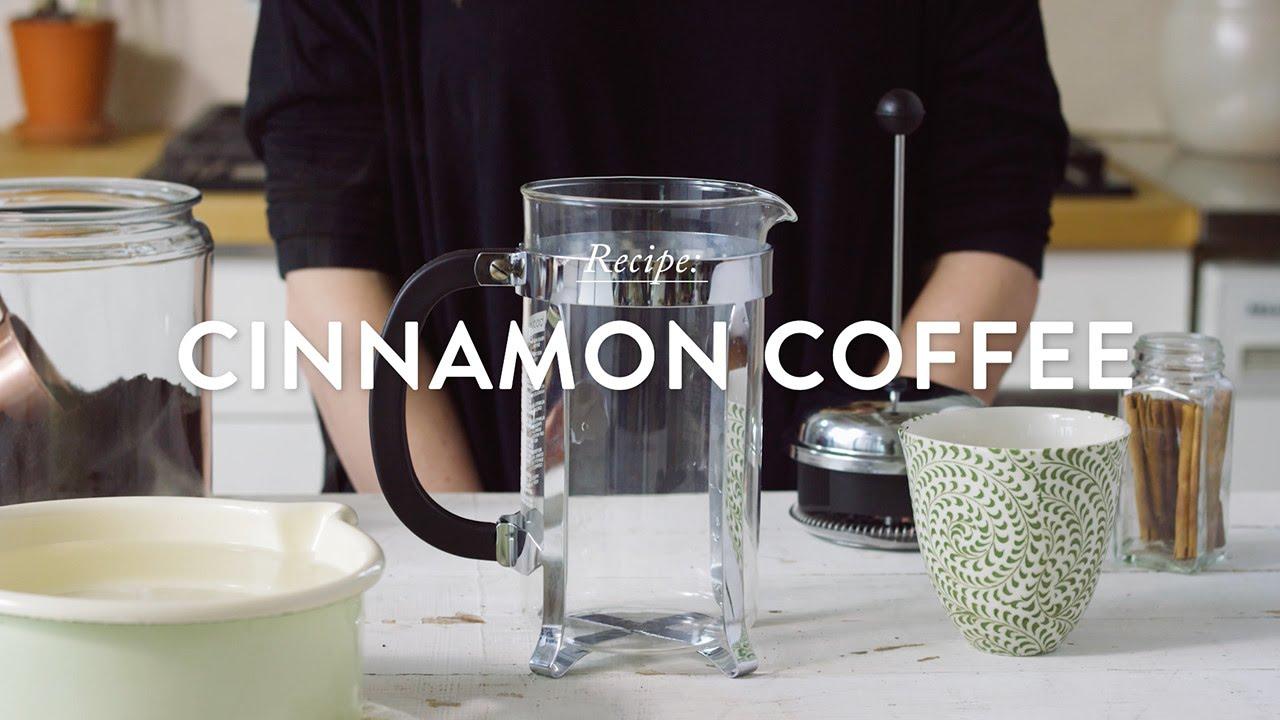 Recipe: Cinnamon Coffee