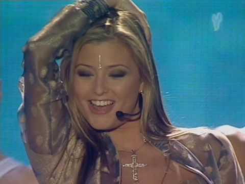Holly Valance  Disney Kids Awards 2002   Kiss Kiss