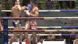 Muay Thai Fight - Singdam vs Manasak- New Lumpini Stadium, Bangkok, 6th March 2015