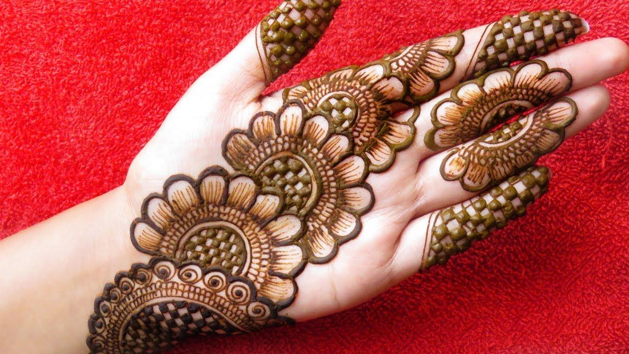 Here this beautiful henna back. Front Hand Mehndi Designs 2020 Easy Beautiful Mehndi Designs For Hands Beautiful Art World Youtube