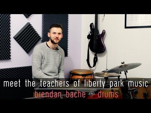 Meet the Teachers of Liberty Park Music | Brendan Bache | Drums