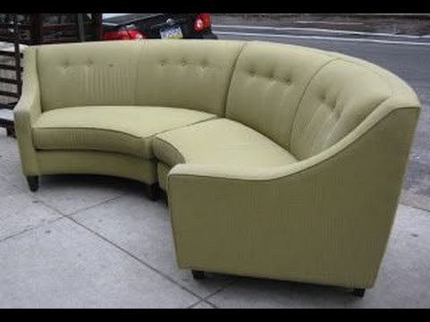 Semi Circle Couch - YouTube
