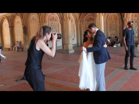 Song Performance + Wedding Photography in Central Park Manhattan New York