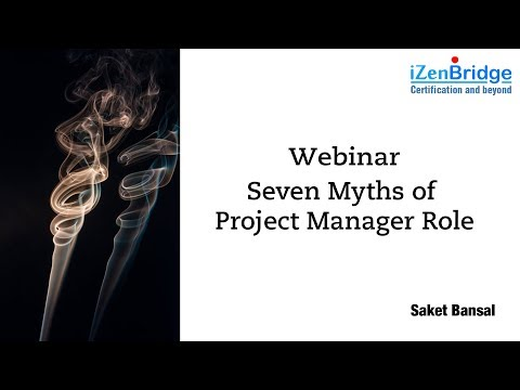 Seven Myths of Project Manager Role! (6 March 2018)