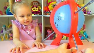 Лопаем шарики !!! Прикольная игра для детей! Play balloons !!! Cool game for kids!