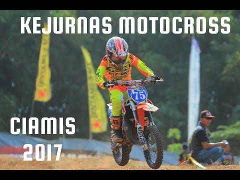 Keseruan Hari Pertama Kejurnas Motocross Ciamis 2017