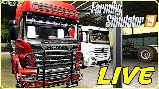 FARMING SIMULATOR 19 #169 LIVE - ABBIAMO TROPPO CONCIME - GAMEPLAY ITA