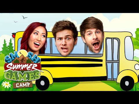 FIRST CAMP EXPERIENCES (Smosh Summer Games) - YouTube