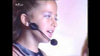 Ariana Grande - Break Free ft Zedd - by 9 years old ARIANN & 5DB - LIVE  UNIVERSONG 2015