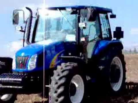 New Holland TL-A 100 is raking and full action ....TURKEY