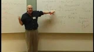 Gregory Chaitin Lecture Mälardalen University 2005 Pt 3