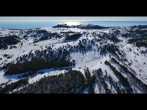 travelcrimea: Ай-Петри зимой: такой разный Крым за минуту