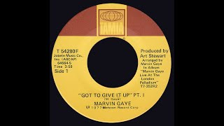 Marvin Gaye ~ Got To Give It Up 1977 Disco Purrfection Version